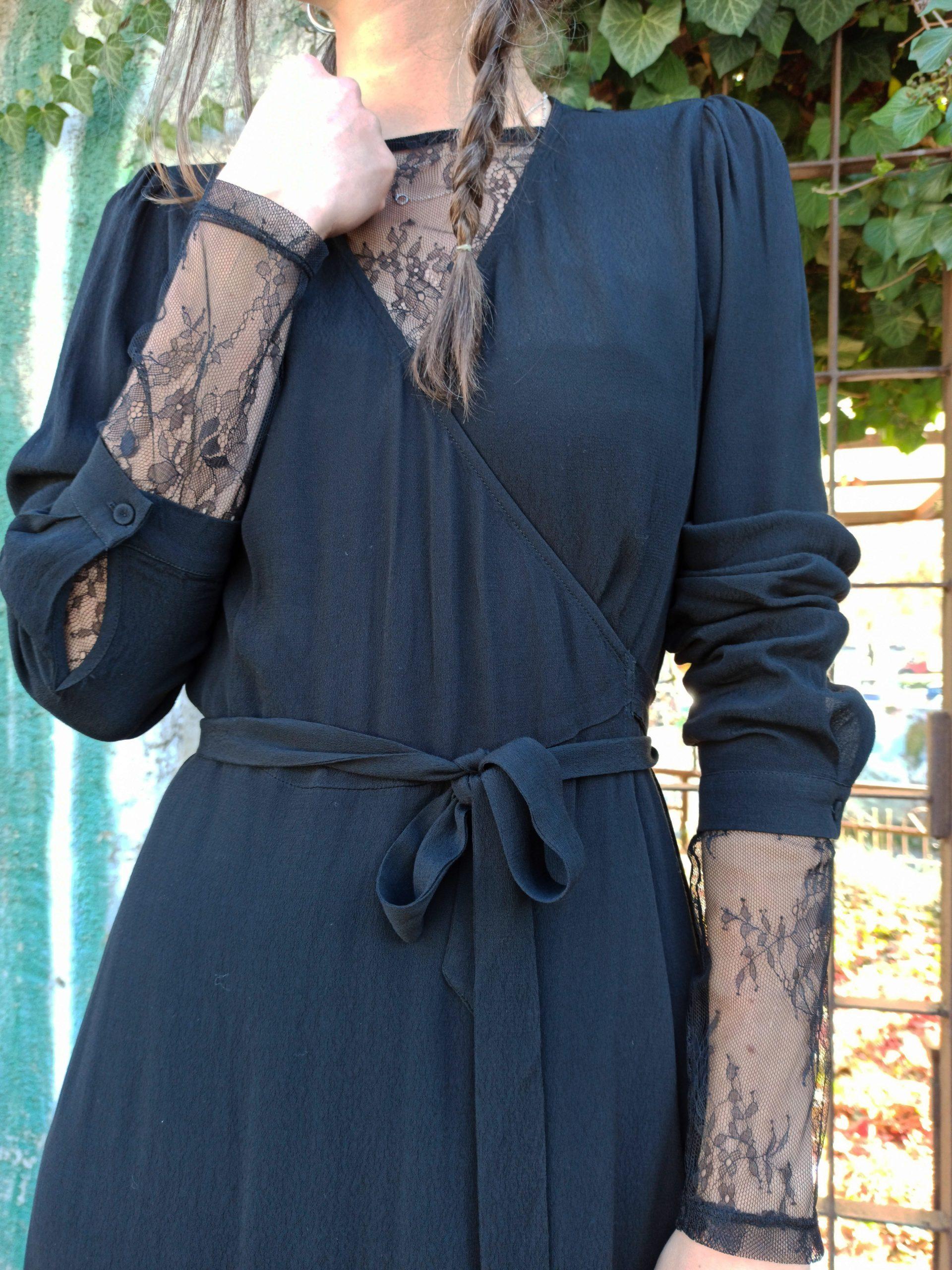 Minimum Kleid Elastica LS Midi - Zanon Style Lienz